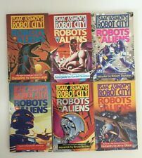 ISAAC ASIMOV Robot City Robots and Aliens Series 1-6 PB Various Authors Ace