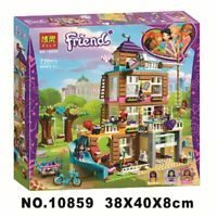 41340 Friends Heartlake Friendship House Building Set Olvia Ema, Mini-Figures Du