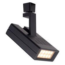 WAC Lighting H-LED25F-27-BK Argos 25 Watts LED Track Head Black