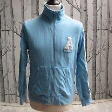 Adidas Original Women's Cotton Track Suit Top Jacket Sky Blue Medium UK 12 EU 40