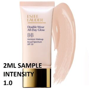 ESTEE LAUDER DOUBLE WEAR ALL DAY GLOW BB FOUNDATION INTENSITY 1.0   2 ml SAMPL