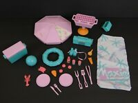 "Vintage Maxie by Hasbro Beachy Keen Surf Watch 1988 11.5"" Doll Size Beach Set"