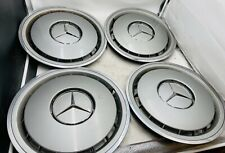 4x Original Mercedes Benz Radkappen W124 W126 190 D E 15 Zoll 1244010924 ( 1 )