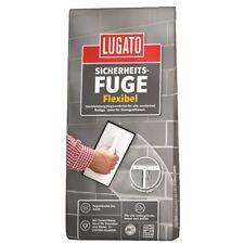 Lugato Sicherheitsfuge flexibel Fugenmörtel 1 kg anthrazit