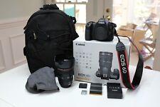 Canon EOS 6D DSLR Camera **WITH** 24-105mm f/4L IS Lens + Extra Batt + Bag!