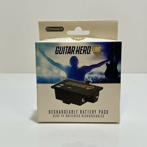 NEW Guitar Hero Live Rechargeable Battery Pack Packs Power A Activision Rock