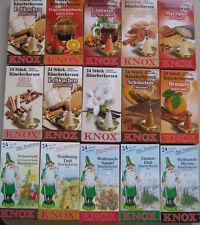 24 Stück Original Knox Räucherkerzen Räucherkegel Räucherkerze nach Ihrer Wahl