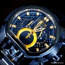 Invicta Reserve Bolt Zeus Magnum Blue Label Swiss Mvt Steel 52mm Watch New