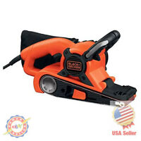 Electric Heavy Duty Belt Sander With Dust Bag Quickly Refinish Floor Walls Wood