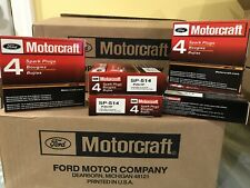 8pc Genuine Ford Motorcraft Platinum Spark Plugs SP-547 PZK1F PZH1F SP-514