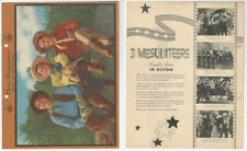 F5-7 Dixie Cup, Premium, 1941, Movie Stars, Three Mesquiteers