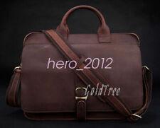 High Class Genuine Leather Briefcases Men's Messenger Bag Laptop Bag