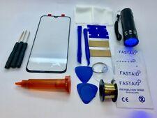 Front Glass, Screen Repair Kit, Loca Glue UV Torch for Samsung galaxy A50
