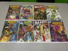 MARVEL COMICS 1000 DECADES VARIANT COVER SET LOT OF 8 PEREZ, ROSS