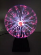 """Plasma Ball 8"""" Light Lamp Round Sphere Holiday Party Decor Touch Sound Sensitive"""