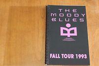 Moody Blues / TOUR ITINERARY / Fall Tour 1993 USA - Canada
