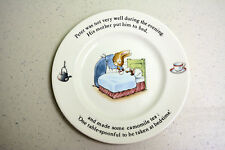 Vintage Beatrix Potter Peter Rabbit Childs Tea Plate England by Wedgewood