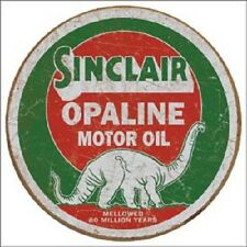 "Sinclair Opalin Motor Oil 12"" Vintage Style Metal Signs Gas Pump Garage Man Cave"