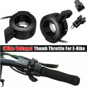 Thumb Finger Trigger Throttle Left Right Electric Bike Ebike Scooter