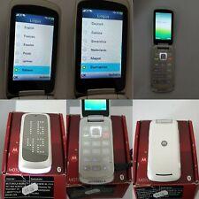 CELLULARE MOTOROLA GLEAM PLUS BIANCO GSM SIM FREE DEBLOQUE UNLOCKED 2