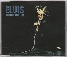 Elvis Presley - Suspicious Minds (Live) - Scarce 2001 UK 3trk CD (Radio Promo)