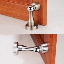 Magnetic Door Stopper Noiseless Holder Stainless Steel Catch Door Wall or Floor