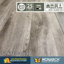 12mm LAMINATE FLOORING /FLOATING FLOOR E0 Rating AC4 Slate Grey