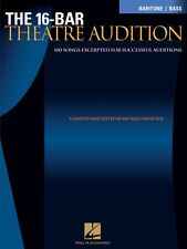 16-Bar Theatre Audition Baritone Bass Baritone Bass Edition Vocal 000740256