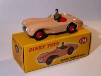 Aston Martin DB3S / DB3 Sport  - ref 104 au 1/43 de dinky toys atlas