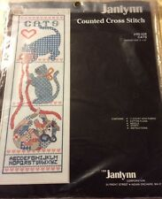 """Janlynn Counted Cross Stitch kit """"CATS"""""""