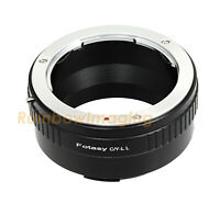"Contax Yashica CY Lens to Leica L T Mount Leica TL2  TL T CL Adapter ""US Seller"""