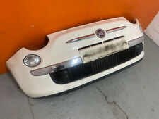 FIAT 500 COMPLETE FRONT BUMPER WITH FOGS AND GRILLS 2008-2015