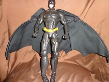 "Mattel BATMAN BEGINS ACTION CAPE BATMAN ACTION FIGURE DC Comics 14"" Toy"