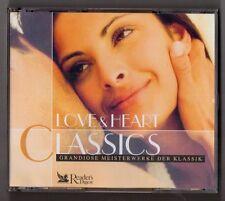 CD Love & Heart Cassics Meisterwerke der Klassik Reader's Digest 3 Cd's