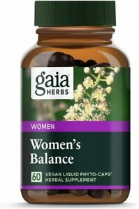 Gaia Herbs Women's Balance, Vegan Liquid Capsules, 60 Count - Hormone...