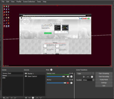 OBS Studio Livesteaming and Recording Software For Windows
