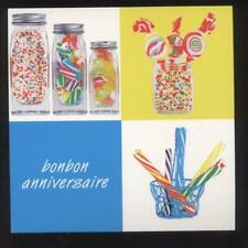 NEUF CARTE BONBON ANNIVERSAIRE + ENVELOPPE !! 10 CARTES ACHETEES = PORT GRATUIT