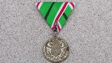 Rare Bulgarian Military Royal Medal For Balkan War 1912-1913