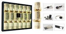 Luxury Tom Smith Chairman's Choice Christmas Xmas Crackers - 6 x 14'' Crackers