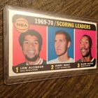 1970 71 TOPPS #1 LEW ALCINDOR JERRY WEST ELVIN HAYES SCORING LEADERS CARD!!!!!!!