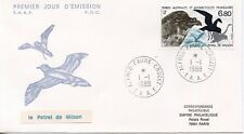 FDC / T.A.A.F. TERRES AUSTRALES TIMBRE N° 132 / FAUNE /