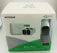 Arlo Pro Indoor/Outdoor Wireless HD Security System White In Box Fair