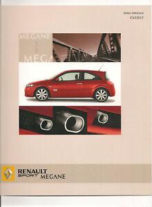 CATALOGUES  RENAULT SPORT MEGANE ENERGY 2005
