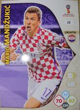 Mario Mandzukic Base Card 81 Brazil Croatia Adrenalyn XL Fifa WC Russia 2018 18