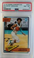 2018-19 Panini Chronicles Classics Red Devonte Graham Rookie RC #662, PSA 8
