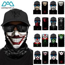 3D клоун Джокер V — значит вендетта маска для лица солнцезащитный экран шарф-труба бандана ободок