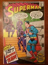 Superman #191 - 7.0 Fine/VF Grade, 1966 DC Comics