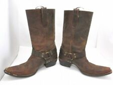 Ariat Women's Brown Distressed Leather Cowboy Western Boots Sz 9 B