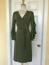 Banana Republic Women/'s Black Tie Belt Hi Lo Patio Dress Size 8