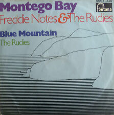 "7"" 1969 REGGAE RARE IN MINT- ! FREDDIE NOTES & THE RUDIES : Montego Bay"